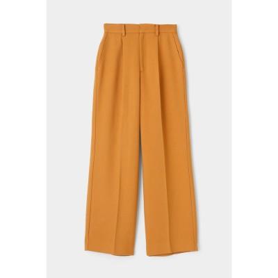 マウジー moussy STRAIGHT WIDE PANTS (ライトオレンジ)