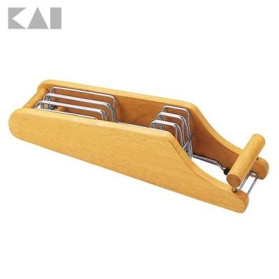 MY FAVORATE 木製包丁スタンド AP0520 貝印