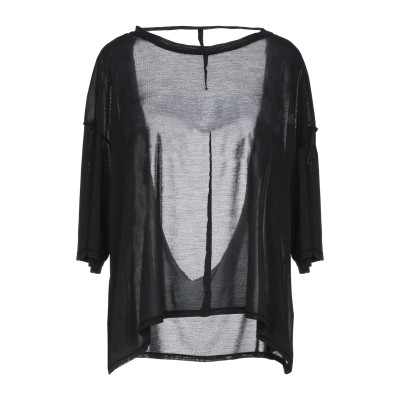 BEN TAVERNITI™ UNRAVEL PROJECT T シャツ ブラック XXS シルク 100% T シャツ