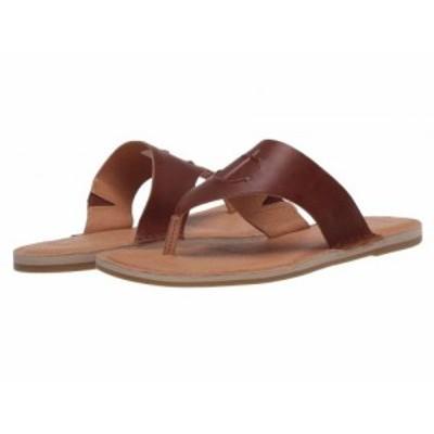 Sperry スペリー レディース 女性用 シューズ 靴 サンダル Seaport Thong Leather Cathay Spice【送料無料】