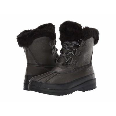 スペリー ブーツ&レインブーツ シューズ レディース Maritime Winter Boot Leather Black