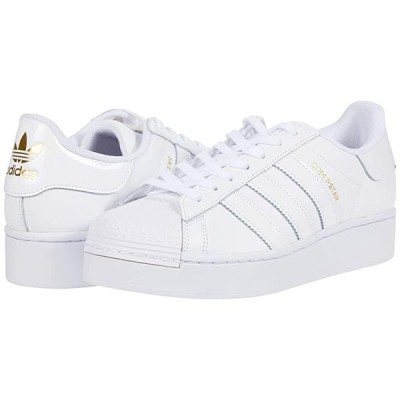 アディダス オリジナルス Superstar Bold - Platform レディース スニーカー Footwear White/Footwear White/Gold Metallic