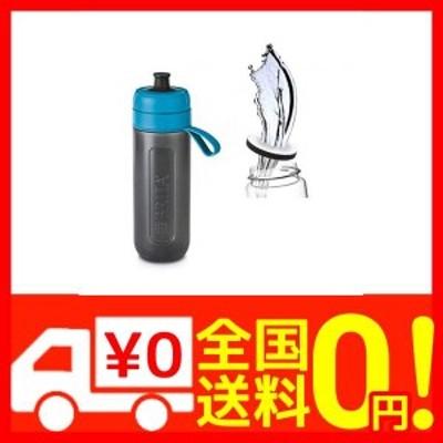 ブリタ 水筒 直飲み 600ml 携帯用 浄水器 ボトル カートリッジ 1個付き フィル&ゴー アクティブ ブルー 【日・・・