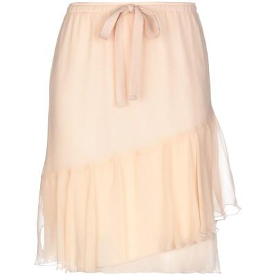 シーバイクロエ SEE BY CHLOÉ ひざ丈スカート ライトピンク 40 シルク 100% ひざ丈スカート