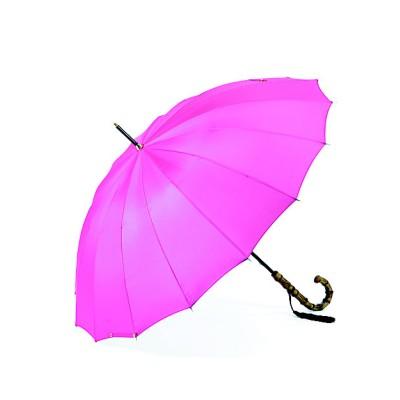 <前原光榮商店/マエハラコウエイショウテン> 雨傘「トラッド16」 フューシャ【三越伊勢丹/公式】