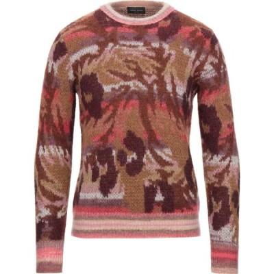 ロベルトコリーナ ROBERTO COLLINA メンズ ニット・セーター トップス sweater Cocoa