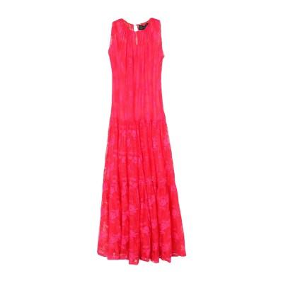 ジャンルカ・カパンノロ GIANLUCA CAPANNOLO ロングワンピース&ドレス フューシャ 42 ナイロン 100% ロングワンピース&ドレス