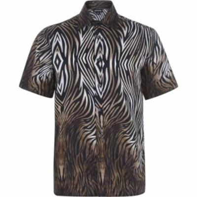 ジャスト カヴァリ JUST CAVALLI メンズ シャツ トップス Tiger Shirt Tiger S
