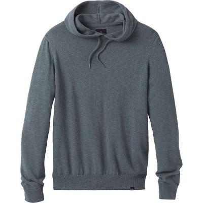 プラーナ Prana メンズ ニット・セーター トップス Kaola Hooded Sweater Smoky Blue