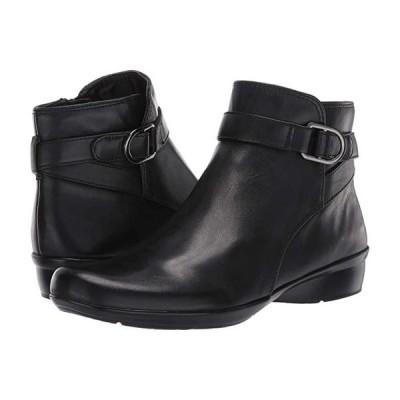 ナチュラライザー Colette レディース ブーツ Black Leather