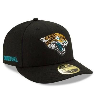 NFL ジャガーズ キャップ/帽子 2020 NFL ドラフト オフィシャル ロープロファイル 59FIFTY ニューエラ/New Era ブラック