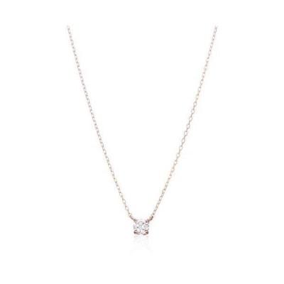 [ウィスプ] ダイヤモンド K18ピンクゴールド ペンダント ネックレス CPCWP81581 ピンク