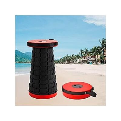 特別価格Freshtour Folding Stool Portable&Retractable/Height Adjustable Chair 2.36''