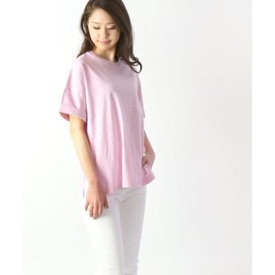 アッパーハイツ  サイドスリットTシャツ THE ROLLED TEE upper hights 2019春夏新作 メール便可能5 レディース 国内正規品