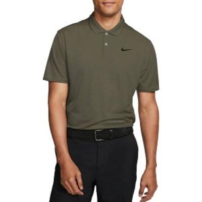 ナイキ メンズ シャツ トップス Nike Men's Dri-FIT Victory Golf Polo Medium Olive
