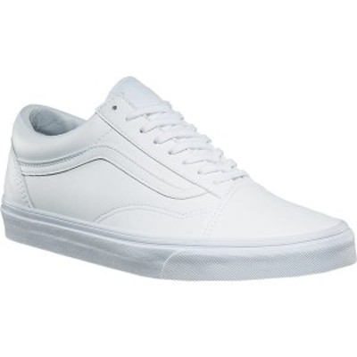 バンズ メンズ スニーカー シューズ Old Skool Sneaker Classic Tumble True White Synthetic