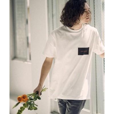 tシャツ Tシャツ mt7319 - Box logo(Color scheme : Era Black×White)print Tee