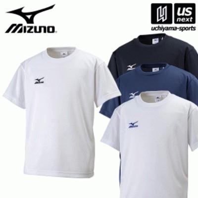 ミズノ ジュニア Tシャツ(半袖) 丸首 2020年継続モデル [M便 1/1][物流]