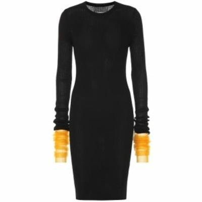 メゾン マルジェラ Maison Margiela レディース ワンピース ワンピース・ドレス Ribbed cotton-blend dress