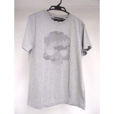 HYDROGEN ハイドロゲン 240610 クルーネックスカルTシャツ SIZE:S 中古 メンズ ∴WF1761