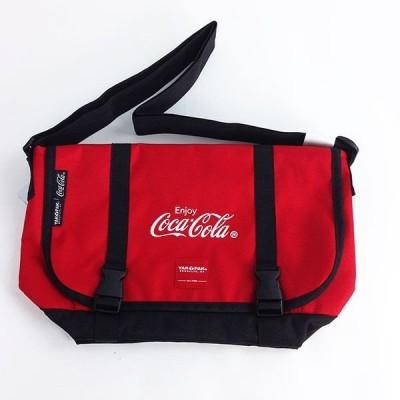コカ・コーラ バック コカコーラ メッセンジャーバッグ ショルダーバッグ 赤 グッズ  (MCOR)