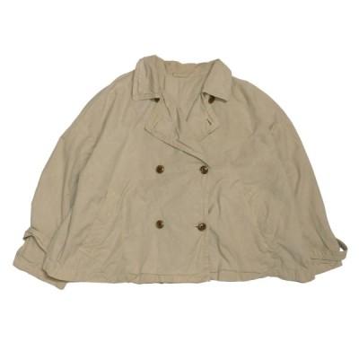 nest Robe コットンダブルジャケット ベージュ サイズ:- (神戸三宮センター街店) 210330
