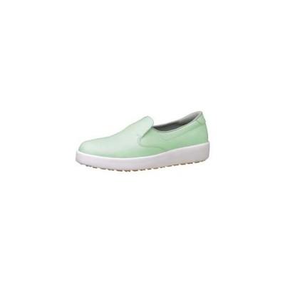 ミドリ安全 ハイグリップ作業靴 H-700N 24.5cm グリーン SKT4329