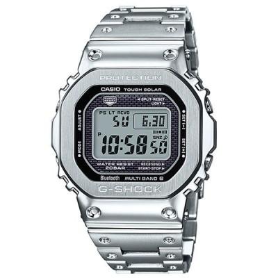 国内正規品 CASIO G-SHOCK カシオ Gショック メンズ ORIGIN Bluetooth搭載 電波ソーラー シルバー GMW-B5000D-1JF あすつく 腕時計