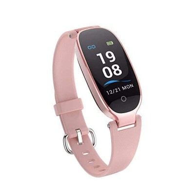 (新品) Fitness Tracker,Activity Fitness Tracker For Women Waterproof Smartwatch For Women?with Step Counter, Call & SMS Remind Suppo