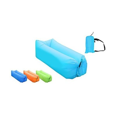 AB VOLTS Fast Inflatable Lounger Portable Outdoor Indoor Wind Bed Lounger, Air Bed Sofa, Air Sleeping Sofa, Inflatable Couch, Lazy Bed Campi