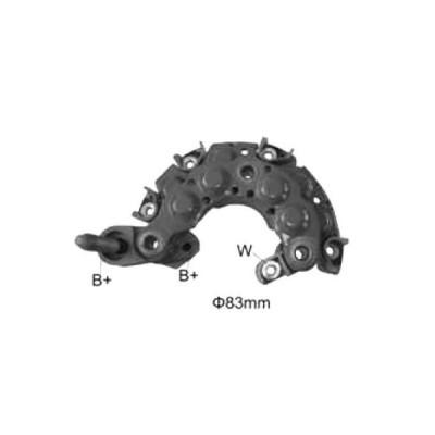 AL オルタネーター ジェネレーター 整流器 ブリッジ 適用: NR716 00211-4640 100211-16 70 100211-4650 021580-3450 1624164011 RN-26 1ピース AL-JJ-1526