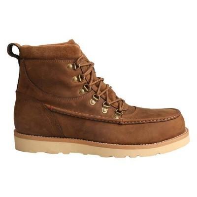 ツイステッドエックス メンズ ブーツ・レインブーツ シューズ Alloy Toe Wedge Sole Waterproof Work Boot