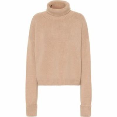 メゾン マルジェラ Maison Margiela レディース ニット・セーター トップス Wool and cashmere sweater Camel