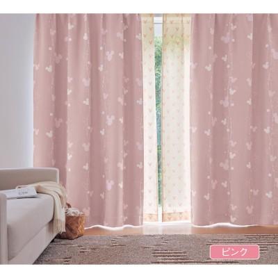 【まとめ買いでお得】【オーダー】遮光オーダーカーテン「ミッキーミチーフ」(ディズニー)