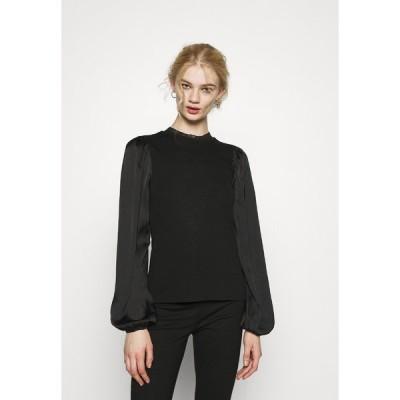 ジェイディーワイ カットソー レディース トップス JDYMAGGIE MIX - Long sleeved top - black
