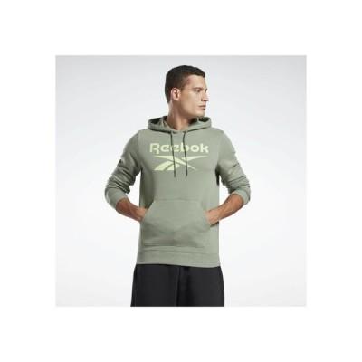 リーボック メンズ スポーツ用品 VECTOR BIG LOGO GRAPHIC SWEATSHIRT - Hoodie - green