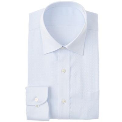 メンズ 【在庫限り】セブンプレミアム 超形態安定100番手双糸セミワイドシャツ(レギュラーシルエット) ベビーブルー 首回り37cm×裄丈78cm
