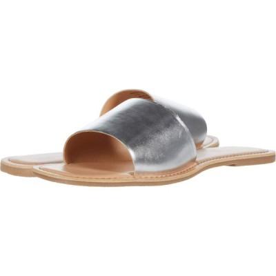 チャイニーズランドリー Chinese Laundry レディース サンダル・ミュール シューズ・靴 Regina Silver Metallic Leather