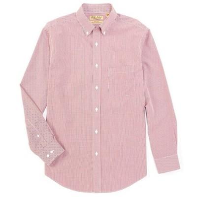 ラウンドトゥリーアンドヨーク メンズ シャツ トップス Gold Label Long-Sleeve Mini Check Sportshirt