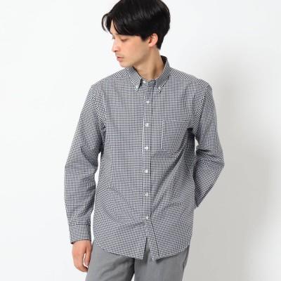 ザ ショップ ティーケーメンズ THE SHOP TK(Men) 調温機能 ポリオックスシャツ (ブラック)