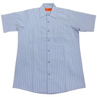 RED KAP STRIPE SS WORK SHIRTS BB(レッドキャップストライプ半袖ワークシャツ)