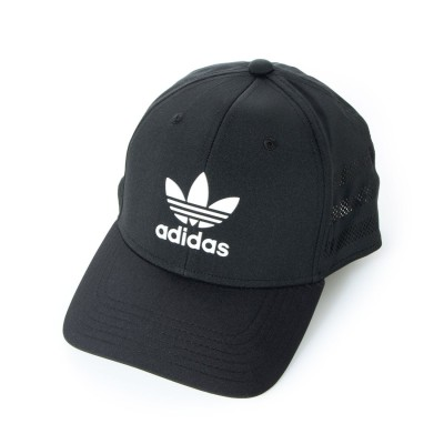 アディダス オリジナルス adidas Originals BeaconⅡ Precurve Snapback (Black/White)