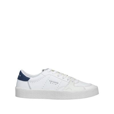 MOA PLAYGROUND スニーカー&テニスシューズ(ローカット) ホワイト 40 革 / 紡績繊維 スニーカー&テニスシューズ(ローカット)