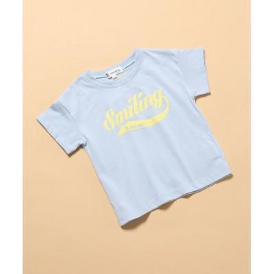 【ロペピクニック】 ユニロゴTシャツ キッズ サックス 120 ROPE' PICNIC