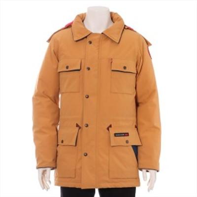 カナダグース BANFF コットン×ポリエステル ダウンジャケット XS メンズ オレンジ  300着限定