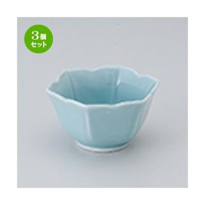 3個セット 小付 和食器 / 桔梗小付ブルー 寸法:8.5 x 7.5 x 4.5cm