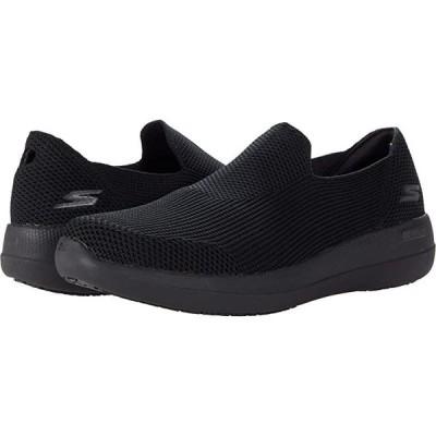 スケッチャーズ Go Walk Max Deluxe - 216141 メンズ スニーカー 靴 シューズ Black