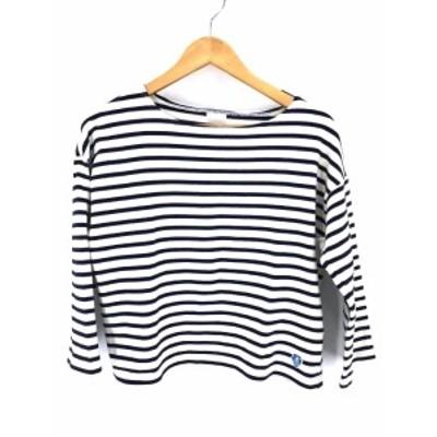 オーチバル ORCIVAL ボートネックTシャツ サイズ1 レディース 【中古】【ブランド古着バズストア】