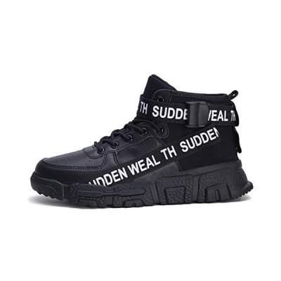 [スポシー] スニーカー クッション性 スポーツ ハイカット メンズ シューズ ウォーキング ランニング 靴 厚底 ?