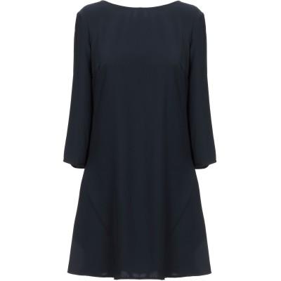 リュー ジョー LIU •JO ミニワンピース&ドレス ダークブルー 42 100% ポリエステル ミニワンピース&ドレス